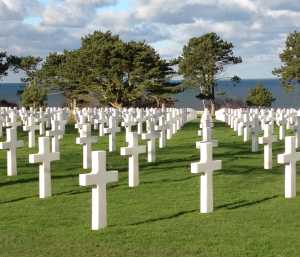 Looking toward Omaha Beach