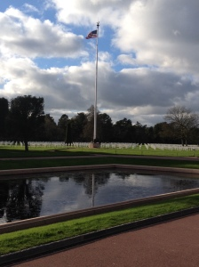 American cemetery, Omaha Beach, Normandy, France