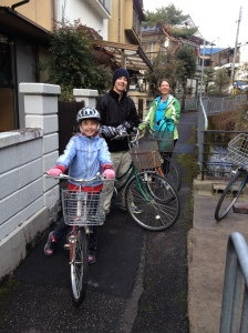 Bicylcing Kyoto