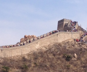 Great Wall Crowded